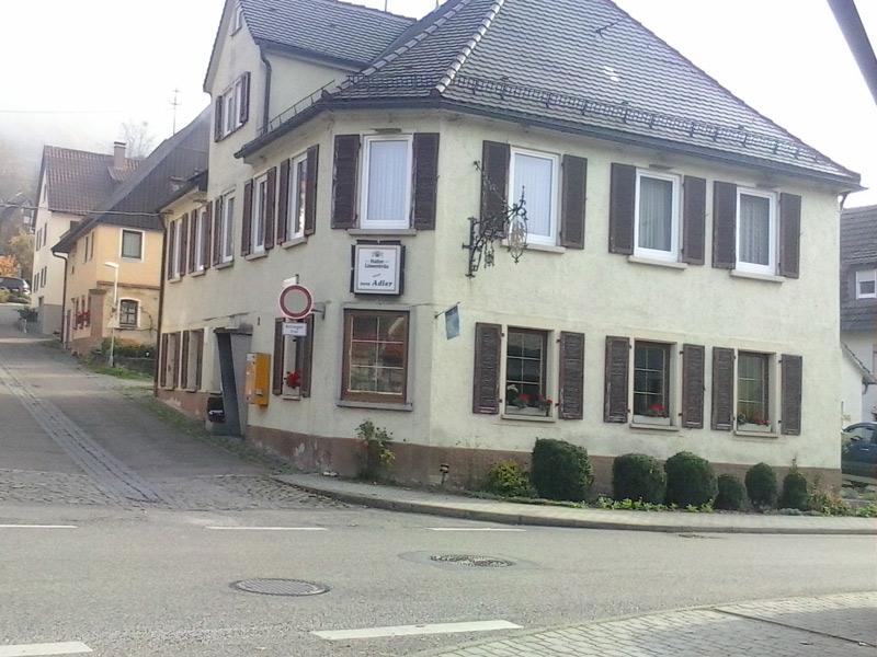 Gasthaus Adler in Geislingen  - @ Autor: Beate Philipp  - © Quelle: Gasthaus Adler