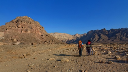 Wandern im Timna Nationalpark