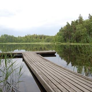 Der Grundsjön-See