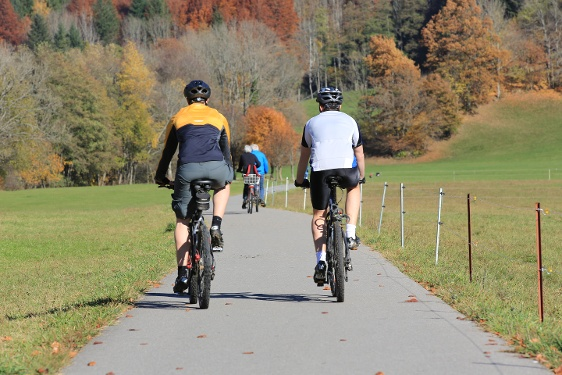 Wiesentalradweg bis nach Basel