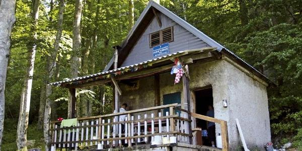 Mountain hut Ivine vodice