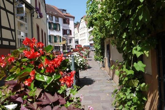 Gässchen in der Altstadt von Blieskastel