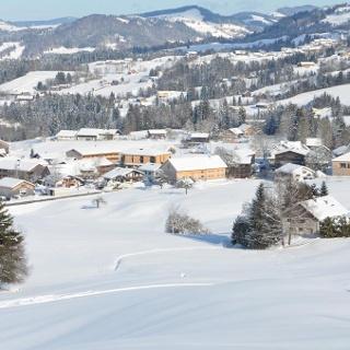 Winterlandschaft Krumbach