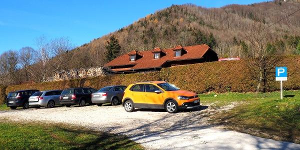 Hüttenparkplatz 465m