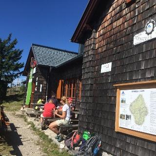 Türnitzer Hütte im Herbst 2015
