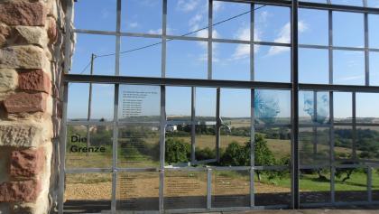 Grenzblickfenster auf franz. Seite