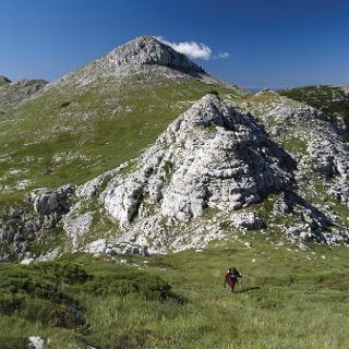 Uspon prema vrhu Troglava