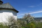 Blick von der Kapelle auf Losheim