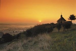 Die Kapelle im Abendlicht