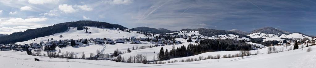 Winter - Bernau Schwarzwald: Panoramaweg von Kaiserhaus nach Hof
