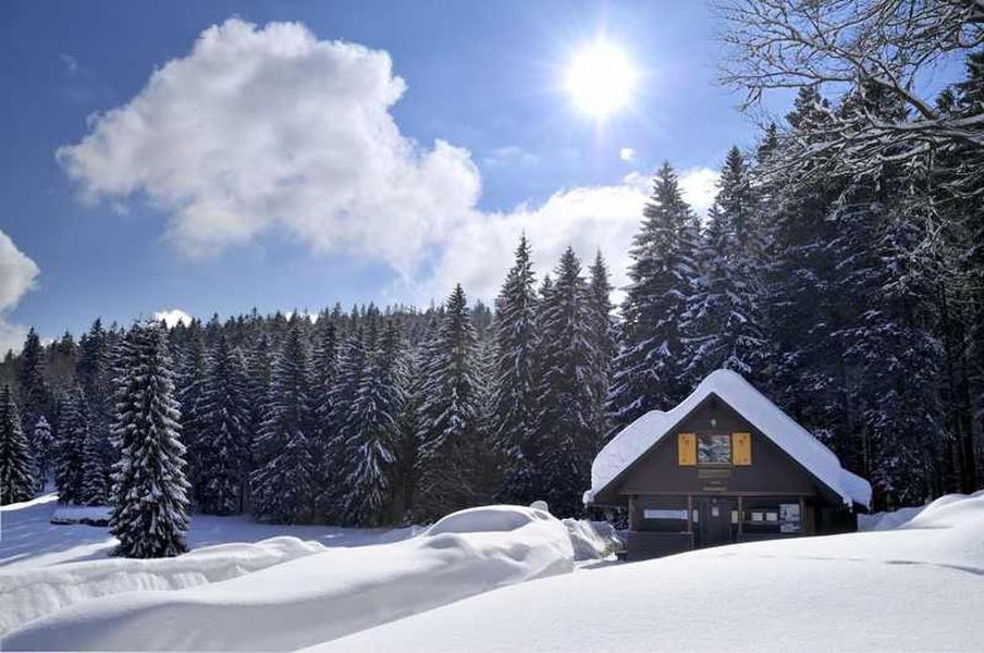 Winter - Bernau: Vom Loipenhaus zur Passhöhe Rotes Kreuz