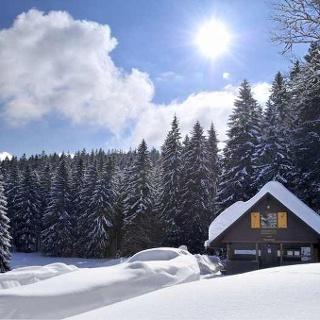 Rot-Kreuz-Hütte am Roten Kreuz zwischen Bernau und Todtmoos