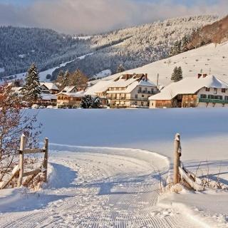 Winterwandern entlang der Bernauer Alb