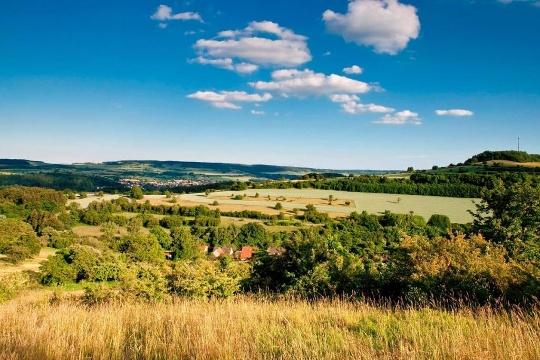 Landschaftsbild im Bliesgau