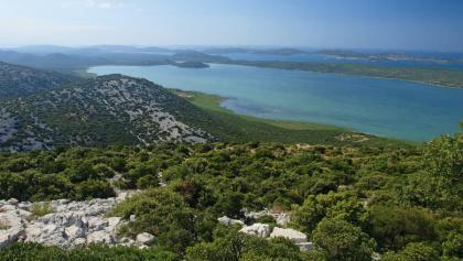 Vransko jezero s Kamenjaka