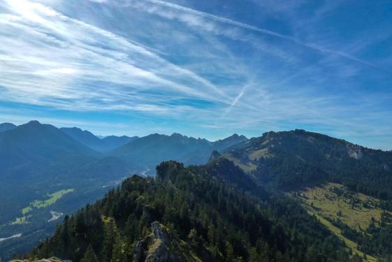Bergtour - Gratüberschreitung im königlichen Jagdrevier