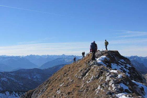 Bergtour - Hochplatte