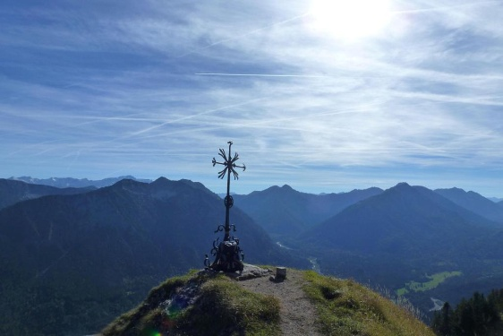 Klettersteig Oberammergau : Bergtouren in und um oberammergau