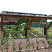 """Ladestation am Piesberg an der Gaststätte """"Zur alten Eversburg"""""""