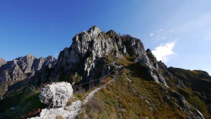 Auf der Cresta della Cima Fo
