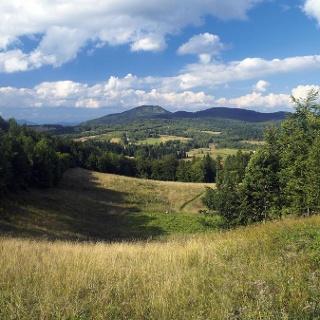 Skradski vrh iz Ravne gore