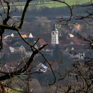 Blick auf Steinbach
