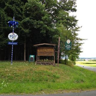 Weg zum Waldgasthaus Herrenwald