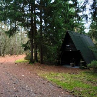 Steinkreuzhütte des Fichtelgebirgsvereins