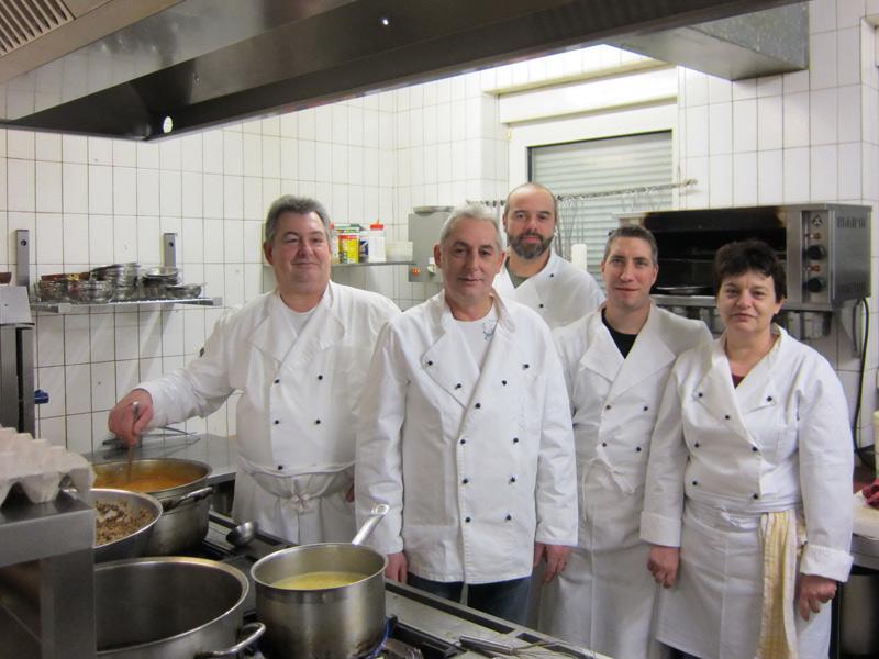Das Küchenteam vom Landgasthof Krone  - @ Autor: Beate Philipp  - © Quelle: Landgasthof Krone