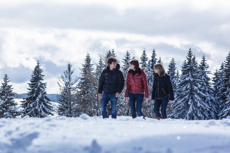 Winterliche Tour vom Schlüchttal nach Grafenhausen