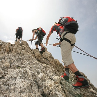 Santnerpass Klettersteig