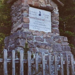 Monument to the Empress Elisabeth
