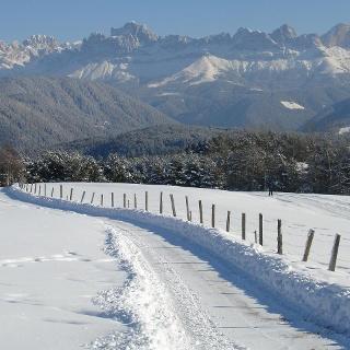Panorama invernale Nova Ponente