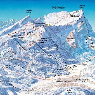 Pistenplan Garmisch Classic