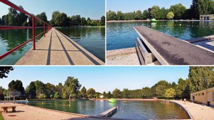 Großes Schwimmer- und Nichtschwimmerbecken