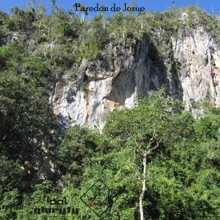 Paredon de Josue - Ansicht des Klettergartens