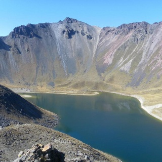 Pico del Fraile mit zentralem Abstieg