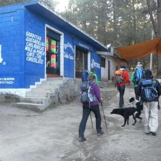 Ausgangspunkt Restaurant Cesar beim Nationalparkeingang