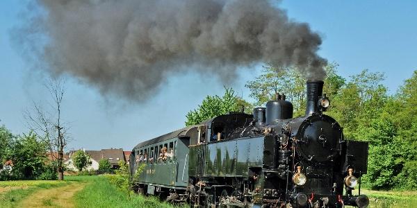 Kandertalbahn bei Binzen