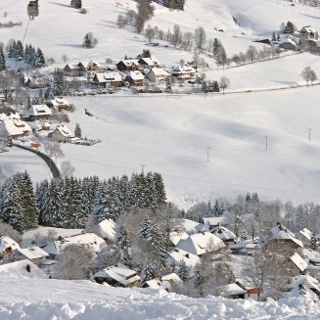 Ausblick vom Skilift Köpfle