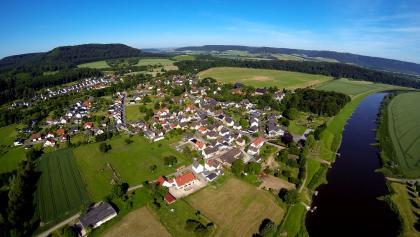 Wehrden zwischen Weser und Wildberg