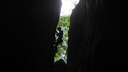 in der Cueva Larga - Route Tetas Mediterraneas