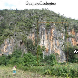Guajiro Ecologico - Wandansicht Klettergarten