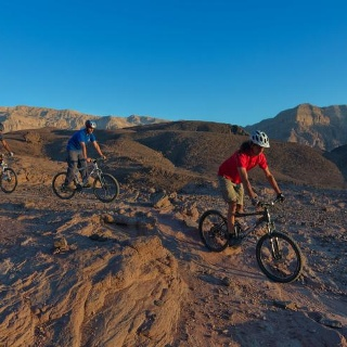 Mountainbiken im Timna Nationalpark