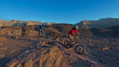 Mountainbiken im Timna Nationalpark