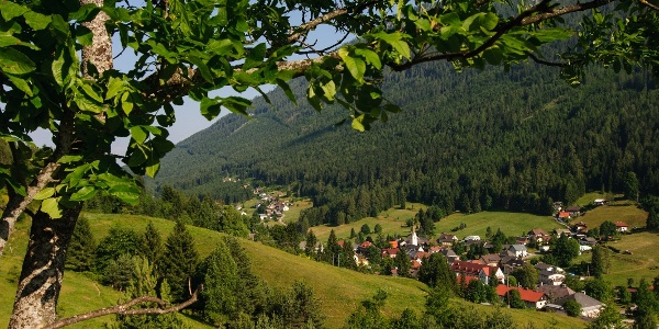Radfahren im Naturpark Dobratsch - Bad Bleiberg