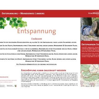 VitalWanderWelt Wanderweg Limberg - Loslassen