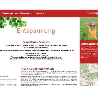 VitalWanderWelt Wanderweg Limberg - Konzentrative Bewegung