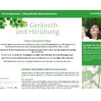 VitalWanderWelt Wanderweg Mühlenbachtal - Aufmerksamkeit lenken