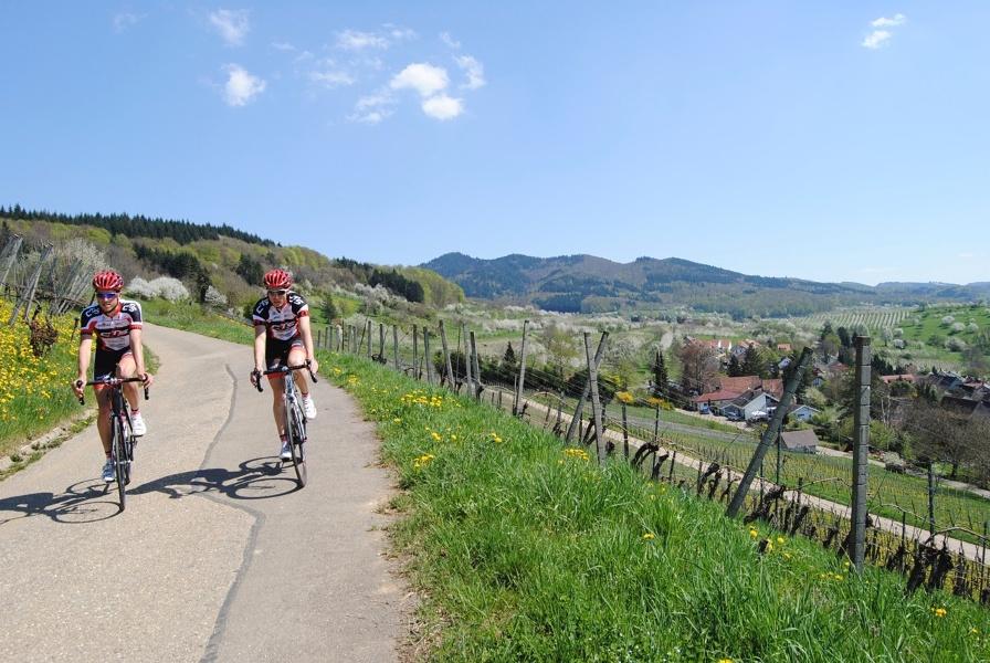Rennrad Tour auf den Kreuzweg und Hoch Blauen von Badenweiler aus